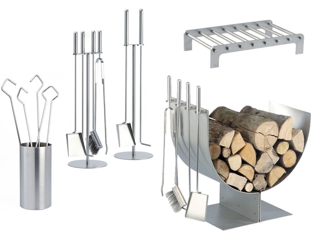 Accessori per caminetto in acciaio inox