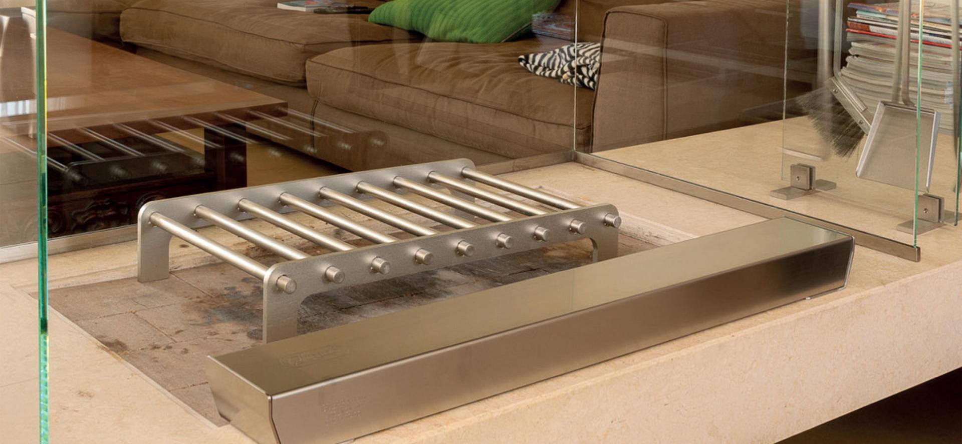 L'accessorio in acciaio che fa arredamento